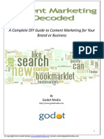 Content Marketing Decoded a Complete How to Content Marketing Guide for Your Business or Brand