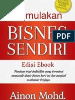 Memulakan Bisnes Sendiri Ainon Mohd