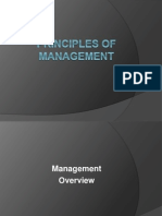 Principle of Managment