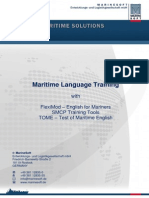 Maritime Language Training