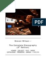 Steven Wilson Complete Discography 2012
