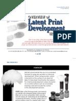 latent print development