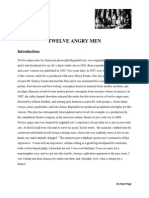 12 Angery Man Analysis
