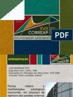 Perícia Relativa a Manifestações Patológicas Recorrentes, Em Processo de Repintura Das Paredes Externas de Parque Fabril -Luiz Poy