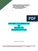 Pasos Para Elaborar Proyectos Socioproductivos
