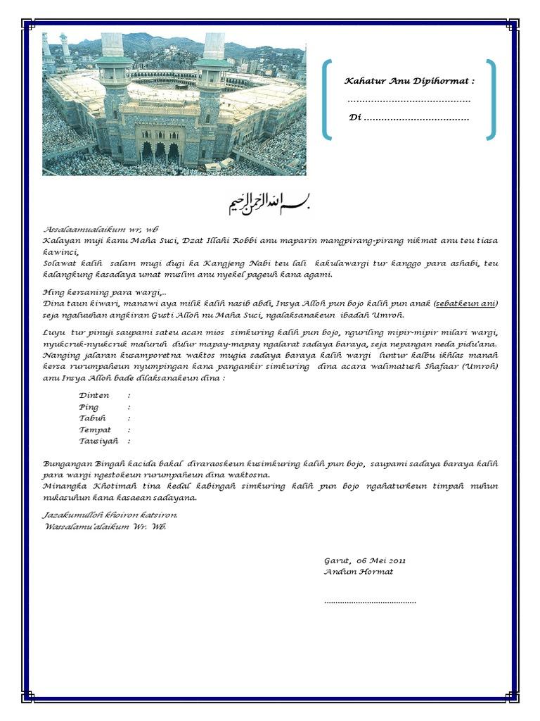 Contoh Uleman Haji Bahasa Sunda Nusagates