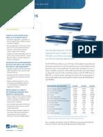 PA-5000 Series Information