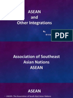 Asean and Other Integrations final