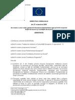 Directiva Consiliului 2000 78 CE RO