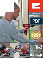 Einhell Catalogue RED PowerTools 2014 GB Screen 05