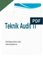 7. Teknik Audit TI