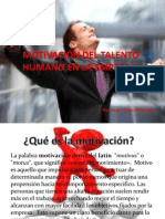 Motivación Del Talento Humano en La Empresa u