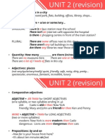 1 ESO - Unit 2 Revision