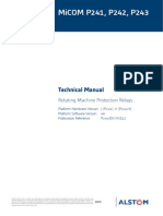 Micom P241 Manual