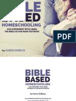 Bible Based Homeschooling Final