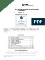 MANUAL DE USUARIO PARA LA DECLARACIÓN INFORMATIVA DE OPERACIONES CON TERCEROS  2014 Versión 1.1.5
