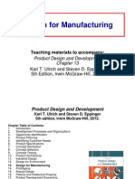 13 Design for Manufacturing