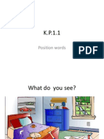 k  position words ppt