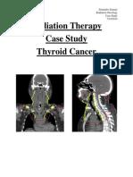 thyroid cancer-case study