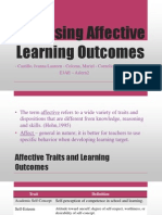 Assessing Affective Learning Outcomes