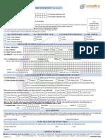 Digital Signature Form Class II
