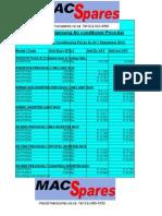 MacSpares - Samsung  Lastest Price List .pdf