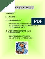 Tema 3. La Salud