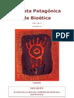 Revista Patagonica de Bioetica N 1