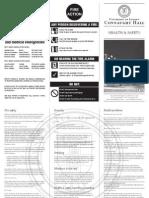 Health & safety leaflet 2007-8