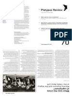The Platypus Review issue #70 (October 2014)
