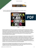 Bossa Nova - Brasil Escola