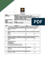 201408 Semester IV MB0053 DEernational Business Management De