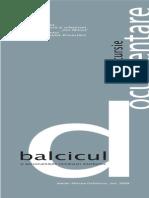 Material Documentar Balcic Atelier M Ochinciuc