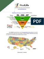 Preposition Practice PDF