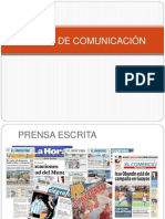 "Medios de Comunicaciã""n"