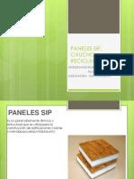 Paneles Sip - Caucho Reciclable