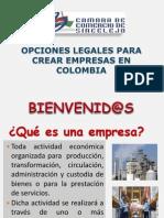 Como Crear Empresas en Colombia