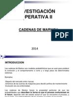 4.- Cadenas de Markov 2014
