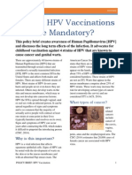 policy brief hpv