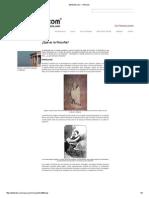¿Qué Es La Filosofía¿ (Según El Bibliote.com)