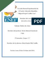Diarios de Clase Del 6 al 17 de Octubre.