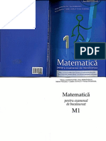Matematica Pentru Examenul de Bacalaureat M1