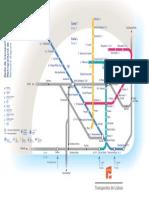 Diagrama Metro Lisboa