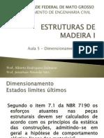 Aula 05 - Dimensionamento à Tração