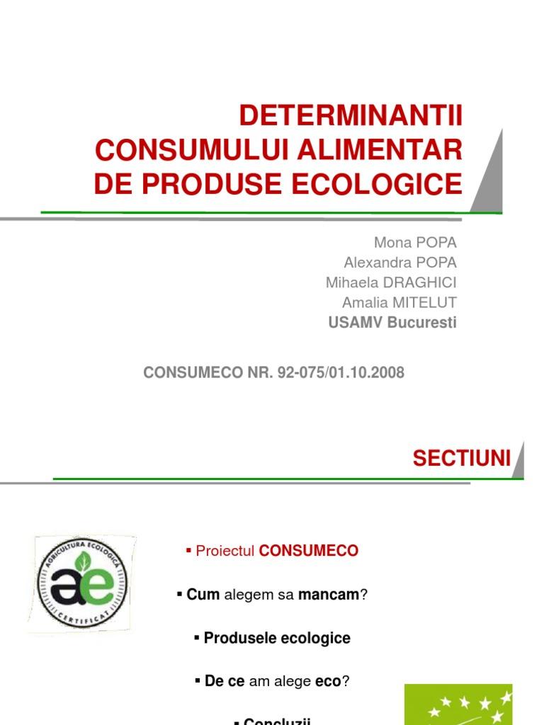 produse ecologice alimentare