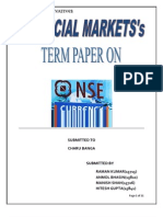 Currency Derivatives at NSE
