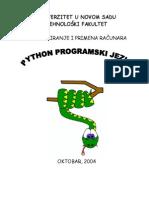 Uvod u Python Programski Jezik