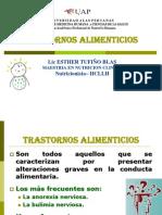 TRANSORNOS ALIMENTARIOS