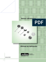 Sensor Ultrasonico MURATA TRADUCIDO