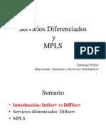 Servicios diferenciados y mpls